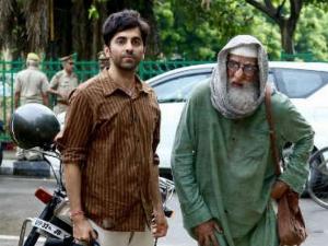Amitabh Bachchan And Ayushmann Khurrana S Look In Gulabo Sitabo