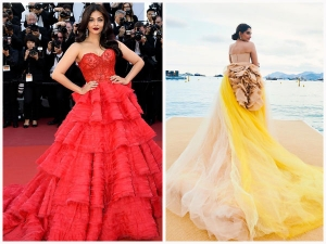 Aishwarya Rai Bachchan Sonam Kapoor Ahuja And Others Who Dazzled In Gowns At Cannes