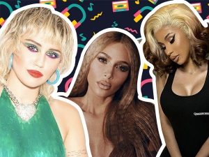 The Best Instagram Beauty Looks Of The Week Kim Kardashian Miley Cyrus Priyanka Chopra