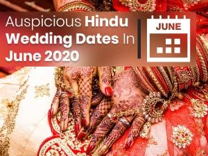 Auspicious Hindu Wedding Dates In June