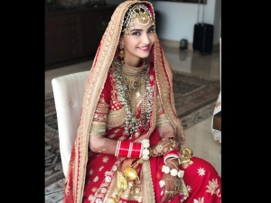 On Sonam Kapoor S Wedding Anniversary The Actresses Includinf Her Traditional Red Outfits