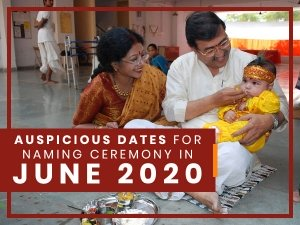 June 2020: Auspicious Dates For Naming Ceremony In This Month