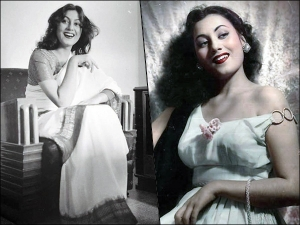 Mughal E Azam Actress Madhubala S Traditional And Western Fashion Look Photoshoot