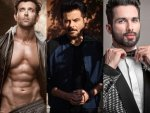 Hrithik Roshan Shahid Kapoor And Anil Kapoor In Black Suit For Photoshoot