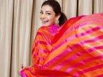 Five Saree Looks Of Kajal Aggarwal On Her Birthday