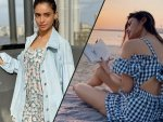 Mouni Roy And Aamna Sharif Give Monsoon Goals In Their Breezy Outfits