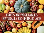 Fruits Vegetables Rich In Malic Acid