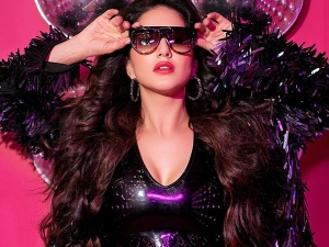 Sunny Leone Exudes Party Vibes In An All Black Rocking Attire