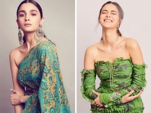 Ananya Panday Alia Bhatt And Other Divas Green Outfits For World Environment Day