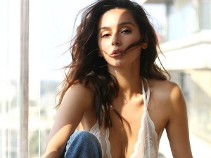Shibani Dandekar In Classy Outfits For Cover Shoot
