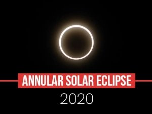 Annular Solar Eclipse 2020: Things To Know About The First Solar Eclipse Of This Year