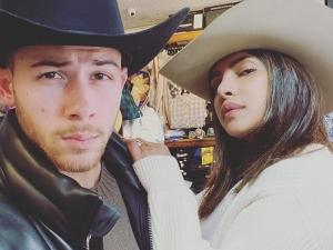 Priyanka Chopra And Nick Jonas In Coordinated Outfits