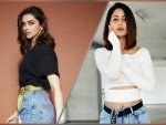 Deepika Padukone And Hina Khan In Stylish Casual Attire