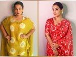 Vidya Balan In Ethnic Outfits For Shakuntala Devi S E Promotions
