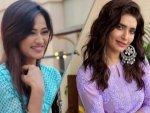 Karishma Tanna In Purple Kurti And Shweta Tiwari In Blue Kurti