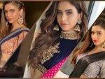 Komolika Aka Aamna Sharif Flaunts Her Three Different Saree Looks