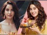 Janhvi Kapoor And Nora Fatehi Give Fashion Goals For Raksha Bandhan