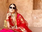 Hina Khan S Bridal Lehenga Look On Instagram
