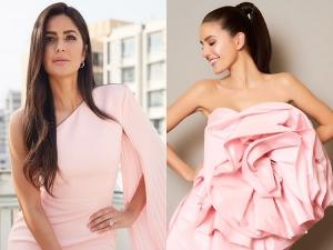 Katrina Kaif And Sister Isabelle Kaif In Dresses