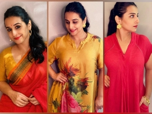 Vidya Balan In Ethnic Outfits For E Promotions Of Shakuntala Devi