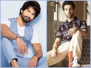 Shahid Kapoor In A Cool Attire And Rajkummar Rao In A Casual Outfit