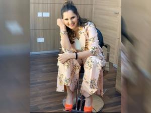 Sania Mirza S Floral Pantsuit On Instagram