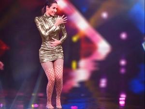 Malaika Arora S Golden Dress On India S Best Dancer Set