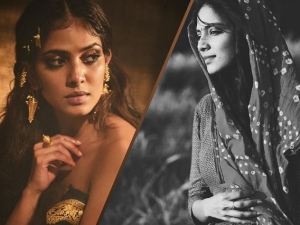 Malavika Mohanan Black And White Challenge And Photoshoot On Instagram