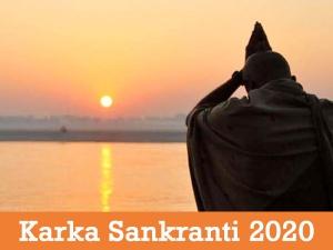 Karka Sankranti Date Shubh Muhurat Rituals Significance
