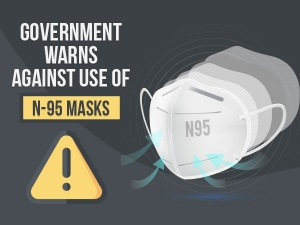 Government Warns Against Use Of Valved N95 Masks