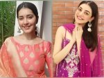 Kajal Aggarwal And Raashi Khanna In Ethnic Suits For Ganpati Celebrations