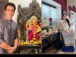Sonu Sood Sanjay Dutt And Other Actors In Ethnic Outfits On Ganesh Chaturthi
