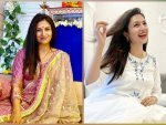 Yeh Hai Mohabbatein Actress Divyanka Tripathi In A White Kurti And Pink Suit