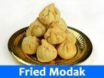 Fried Modak Recipe