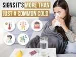 Signs And Symptoms Of Common Cold