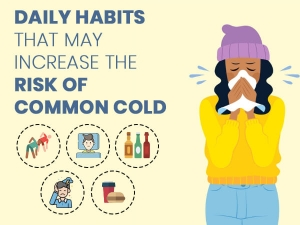 Daily Habits That May Increase The Risk Of Common Cold