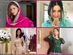 Hina Khan Rashami Desai And Other Divas In Fashionable Outfits For Eid Al Adha