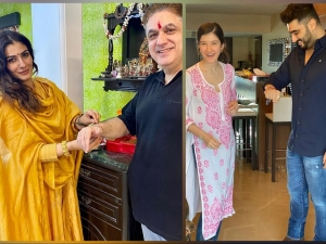 Raveena Tandon Shanaya Kapoor And Other Divas Outfits From Raksha Bandhan Celebration