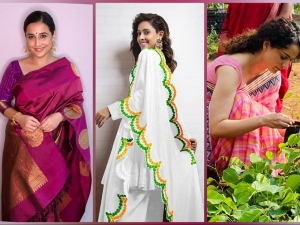 Vidya Balan Kangana Ranaut And Nushrat Bharucha S Outfits On Independence Day