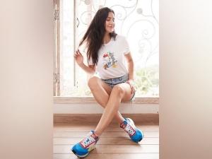 Katrina Kaif S Reebok Sports Shoes On Her Instagram