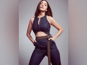 Anushka Sharma S Dark Blue Attire On Her Instagram