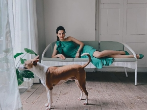 Diana Penty S Green Dress On Her Instagram