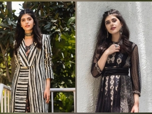 Sanjana Sanghi S Black Outfits On Instagram