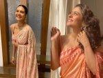 Kajol And Esha Gupta Sarees On Their Instagram Feeds