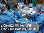 Apollo Hospitals Saves Georgian Nationals Leg Through Timely Treatment