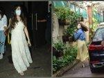 Janhvi Kapoor And Alia Bhatt Spotted In Casual Dresses