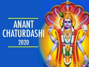 Anant Chaturdashi Muhurta Rituals And Significance