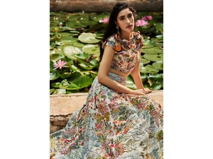 Rahul Mishra S Soothing Lotus Pond Outfits For The Fdci India Couture Week