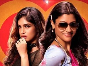 Bhumi Pednekar And Konkona Sen Sharma S Look In The Poster Of Dolly Kitty Aur Woh Chamakte Sitare