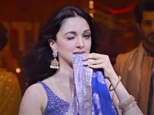 Kiara Advani In A Blue Lehenga In The Song Hasina Pagal Deewani From Indoo Ki Jawani